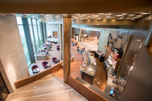 Lobbybereich im Bürgenstock-Hotel (Bild: Urs Flüeler / Keystone)