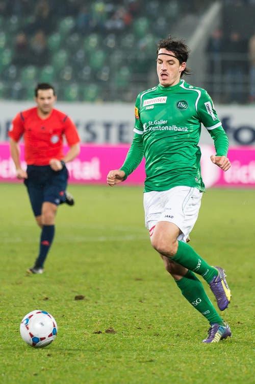 Auch Daniele Russo gehört zu jenen, die in der Europa League teils für den FC St.Gallen auflaufen durften. Als Russo keine Perspektiven mehr beim FCSG sah, wechselte er in die Challenge League zu Winterthur. (Bild: Michel Canonica)