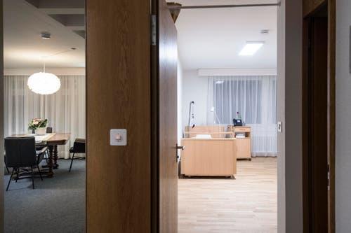 St. Gallen - Hospiz Neueröffnung (Bild: Ralph Ribi)