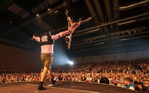 Andreas Gabalier on tour in Germany (Bild: Keystone)