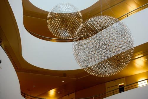 Der imposante Bau kostete 85 Millionen Franken. (Bild: Michel Canonica)