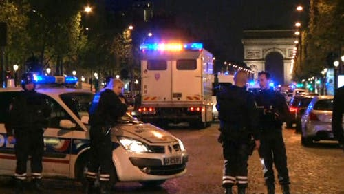 FRANCE PARIS POLICE SHOT (Bild: Keystone)