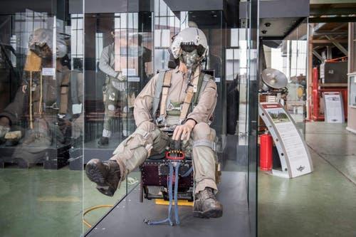 In Altenrhein entsteht ein neues Gebäude für das Flug- und Fahrzeugmuseum. Darin finden zahlreiche Ausstellungsstücke Platz. (Bild: Urs Bucher)