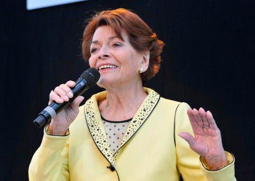 Am 1. Mai 2011 bei einem Auftritt auf dem Flughafen von Düsseldorf. (Bild: Keystone)