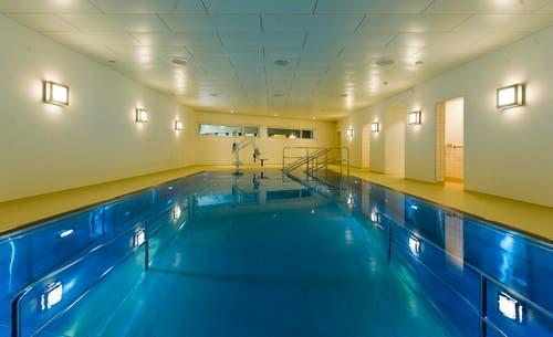 Auch Schwimmbäder gehören zum Kurhaus. (Bild: Michel Canonica)