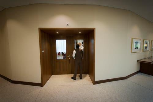120 Angestellte arbeiten im Kurhaus. (Bild: Michel Canonica)