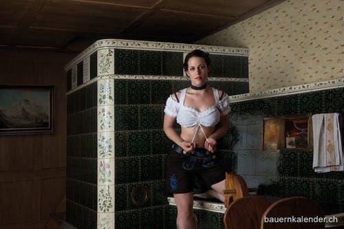 Marianne Affolter aus dem Kanton Luzern. (Bild: www.bauernkalender.ch)