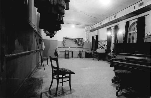 Der Balettsaal im Jahr 1968. (Bild: Stadtarchiv Ortsbürgergemeinde St.Gallen)