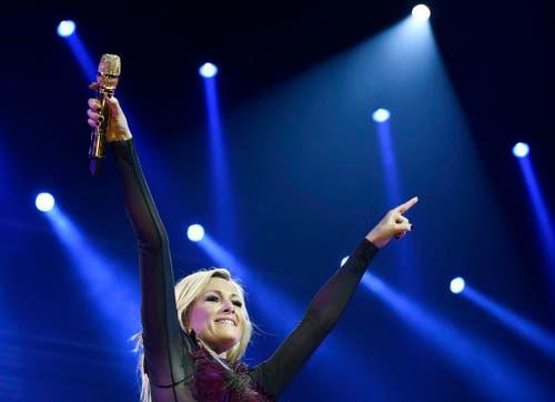 Helene Fischer bei einem Auftritt in Wien. (Bild: Keystone)