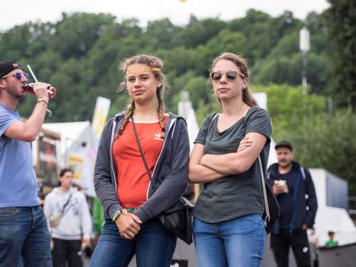 Open Air OpenAir St. Gallen 2017. Do 29. Juni bis SO 2. Juli 2017. Bilder vom Samstagg auf dem Festivalgelände. (Bild: Hanspeter Schiess)