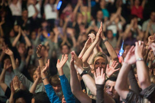 Die Hände zum Himmel... (Bild: Keystone)