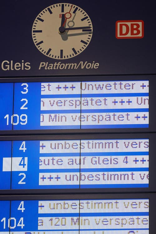 """Sturmtief """"Friederike"""" - Rheinland-Pfalz (Bild: Keystone)"""