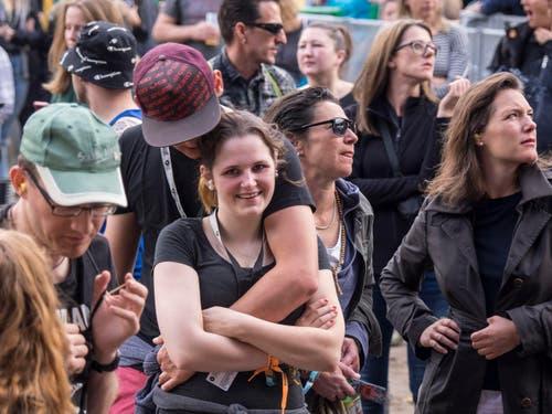 Open Air OpenAir St. Gallen 2017. Do 29. Juni bis SO 2. Juli 2017. Bilder vom Konzert von Beth Ditto auf der grossen Bühne vor grossem Publikum. (Bild: Hanspeter Schiess)