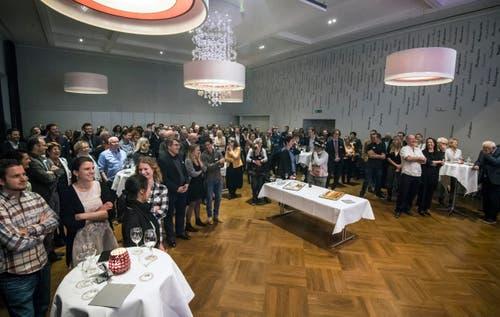 Am Anlass im Gasthof Trauben in Weinfelden waren zahlreiche Gäste eingeladen. (Bild: Reto Martin)