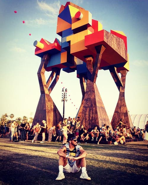 Am Coachella-Festival in Kalifornien. (Bild: pd)