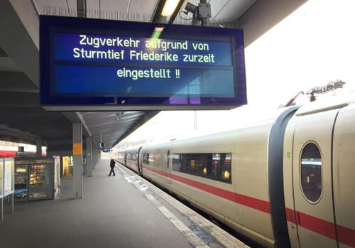 "Sturmtief ""Friederike"" - Nordrhein-Westfalen (Bild: Keystone)"