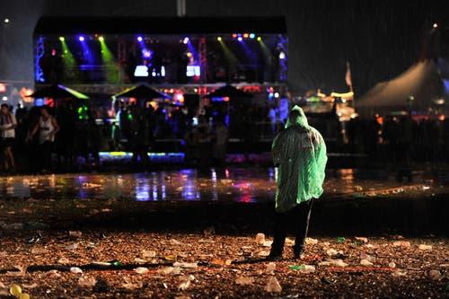 Was nach den Konzerten spätabends übrig bleibt. (Bild: Reto Martin)