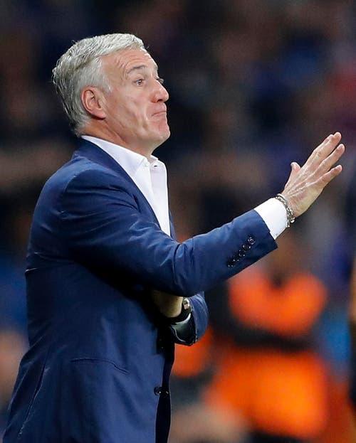 Frankreichs Coach Didier Deschamps (Bild: Frank Augstein / Keystone)