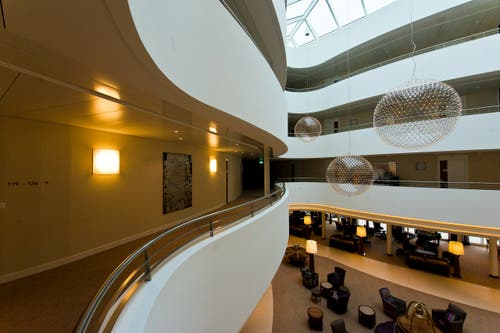 Das Kurhaus & Medical Center Oberwaid. (Bild: Michel Canonica)