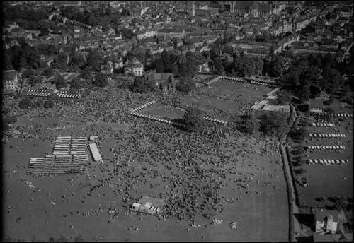 Das St.Galler Kinderfest 1949. (Bild: Werner Friedli)