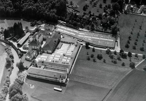 Die Firma Sigg in Frauenfeld, 1963 (Bild: Comet Photo AG (Zürich))