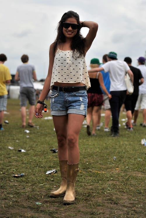 Besteht diese junge Frau den Style-Check? (Bild: Reto Martin)