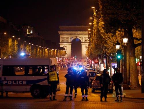 APTOPIX FRANCE PARIS POLICE SHOT (Bild: Keystone)