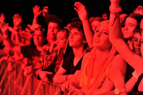 Das weibliche Publikum schmilzt dahin... (Bild: Reto Martin)