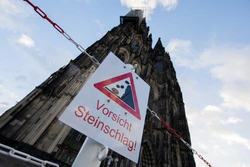 "Sturmtief ""Friederike"" - Kölner Dom (Bild: Keystone)"