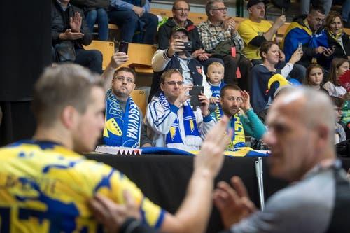Handball: Länderspiel Schweiz - Bosnien (Bild: Michel Canonica)