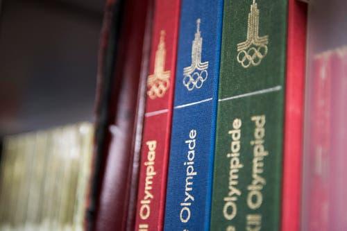 Olympia-Historiker; Osterwalder; Markus Osterwalder; Herisau; Olympia Sammlung; Sammler; Maskottchen; Raritäten; (Bild: Mareycke Frehner)