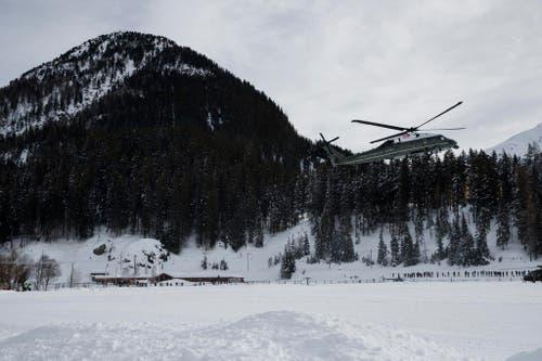 TRUMP DAVOS (Bild: AP Photo/Evan Vucci)