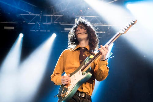 Brian D'Addario von der US-Band The Lemon Twigs. (Bild: Keystone)