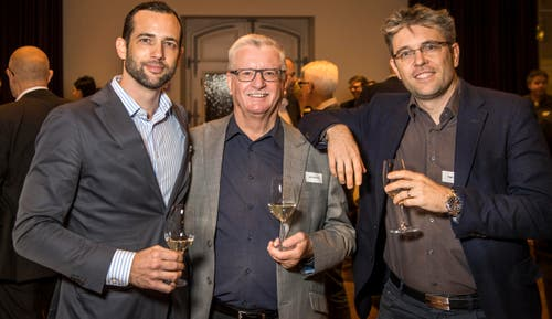 Björn, Bernhard und Roger Koch. (Bild: Reto Martin)