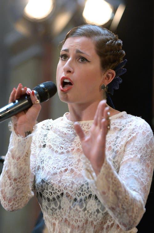 Deutschland: Sängerin Ann Sophie. (Bild: HANS KLAUS TECHT)