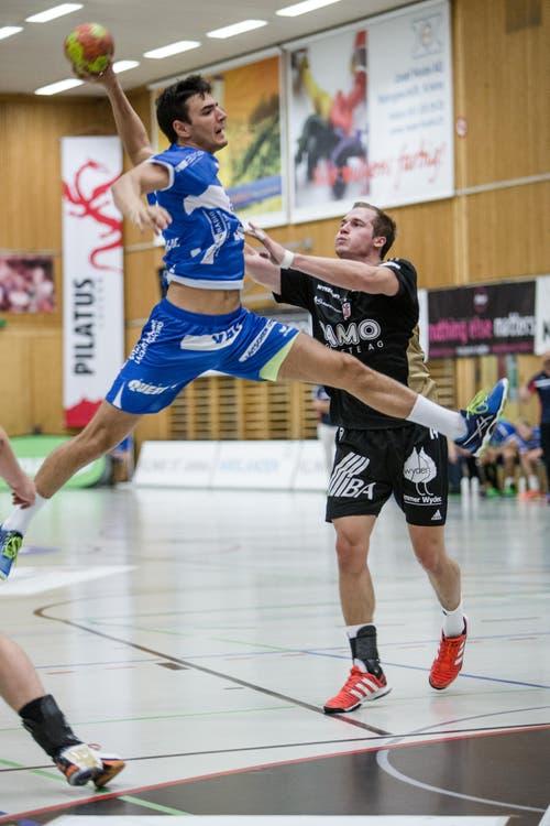 Aleksandar Radovanovic (Nr. 20) (Bild: Manuela Jans- Koch (Neue LZ))