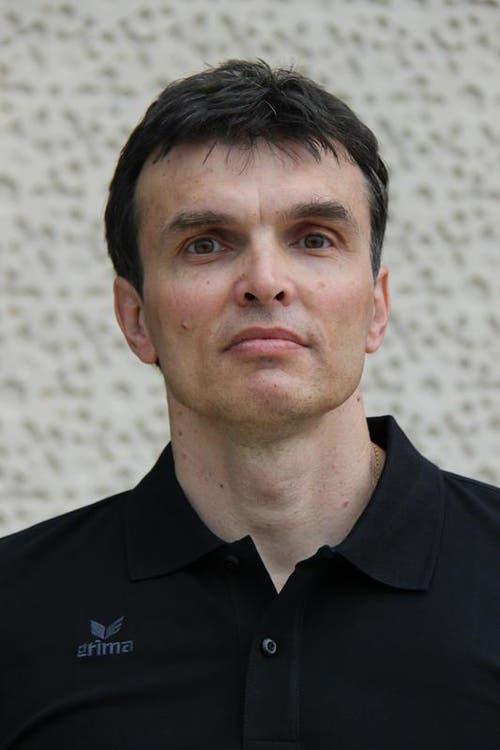 Lubomir Svajlen, Goalietrainer (Bild: HC Kriens-Luzern / Fabienne Krummenacher)