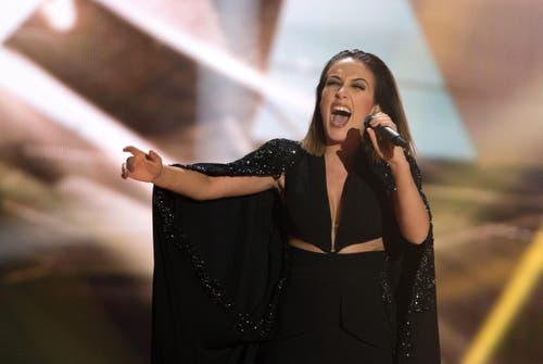 Albanien: Die Sängerin Elhaida Dani. (Bild: GEORG HOCHMUTH)