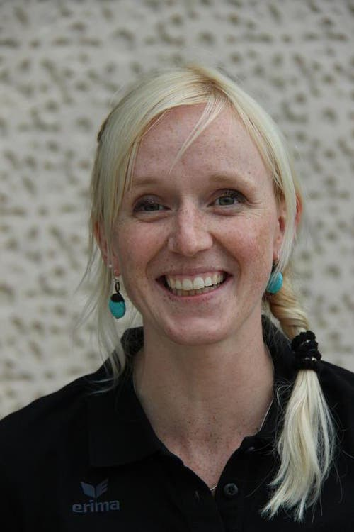 Priska Wallimann, Physiotherapeutin (Bild: HC Kriens-Luzern / Fabienne Krummenacher)