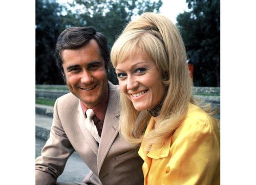 Kurt Felix und Rosemarie Pfluger, Moderatoren «Grüezi mitenand», 1971 (Bild: SRF)