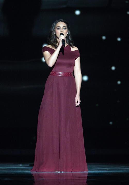 Ungarn: Sängerin Boggie. (Bild: GEORG HOCHMUTH)