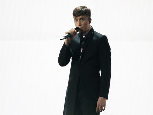 Belgien: Sänger Loic Nottet. (Bild: GEORG HOCHMUTH)