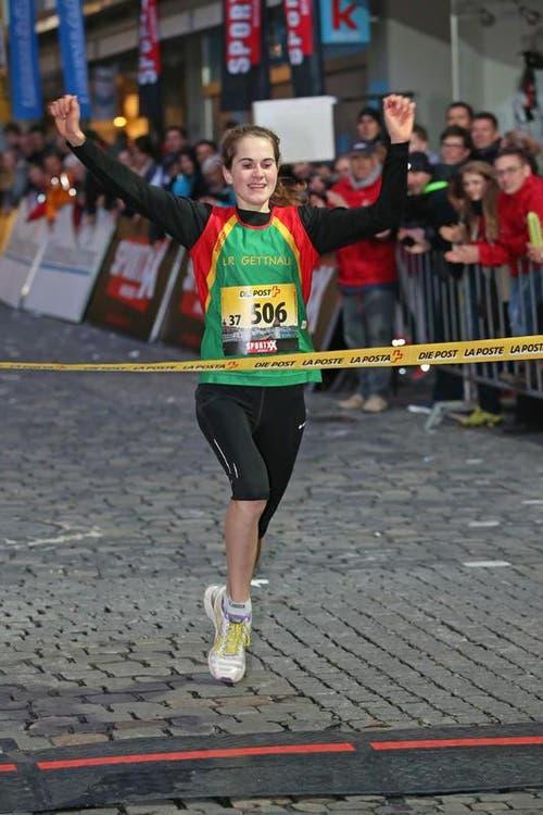 Flavia Stutz gewinnt das Nachwuchselite Rennen der Frauen (Bild: Philipp Schmidli / Neue LZ)