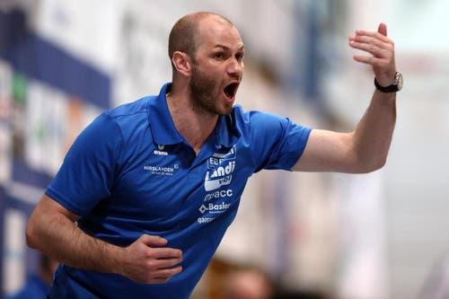 Heiko Grimm, Coach der Krienser. (Bild: Philipp Schmidli / Neue LZ)