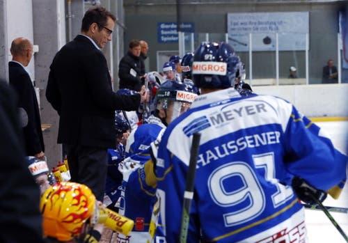 Cheftrainer Björn Kinding (Bild: Werner Schelbert / Neue ZZ)