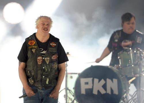 Finnland: Die Band Pertti Kurikan Nimipaivat. (Bild: JULIAN STRATENSCHULTE)