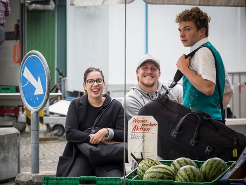 St. Galler Fest / St. Gallerfest 2017, am Nachmittag und gegen Abend. (Bild: Hanspeter Schiess)