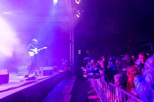 St. Gallen - Weihern Openair Festival Band Crimer (Bild: Ralph Ribi)