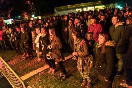 St. Gallen - Weihern Openair Festival Band SARAH LESCH (Bild: Ralph Ribi)
