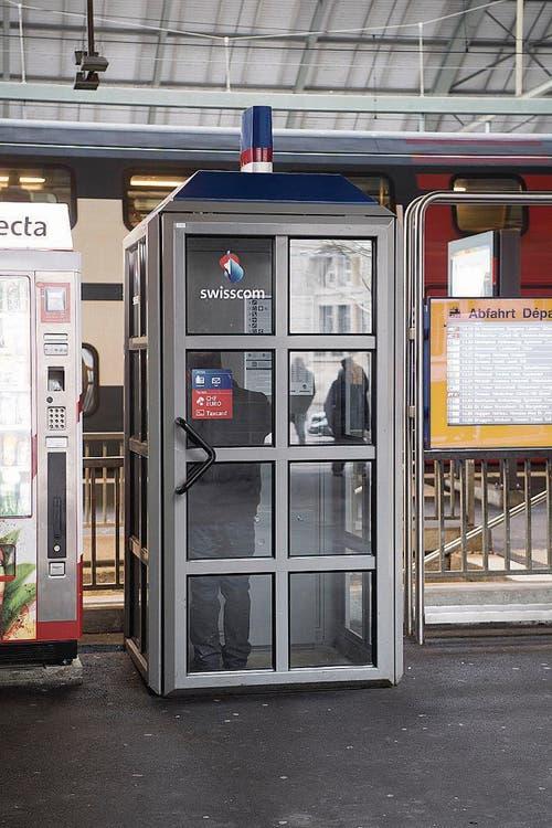 Die Meistbenutzte: Bei der Unterführung West am Hauptbahnhof St.Gallen. (Bild: Ralph Ribi)